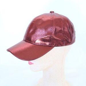 Pink Glitter Ballcap